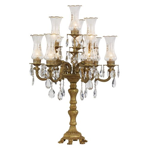 Gold Candelabra Lamps