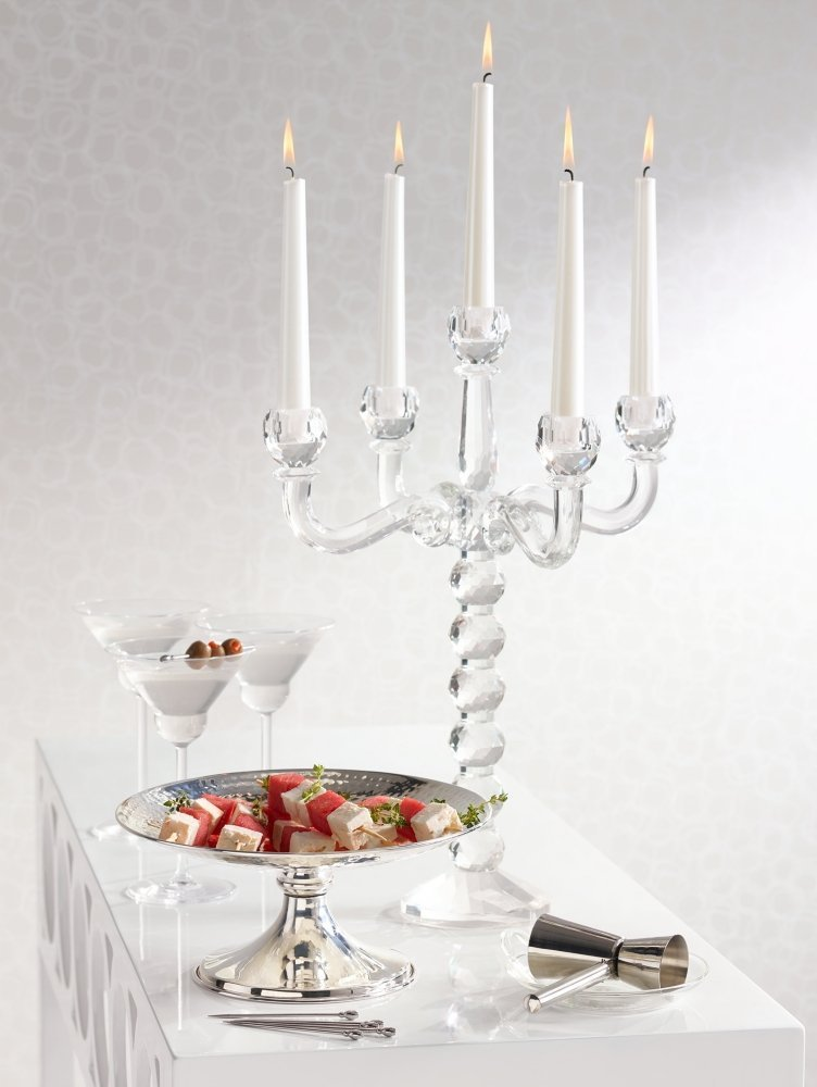 5 Arm Crystal Candelabra on Sale