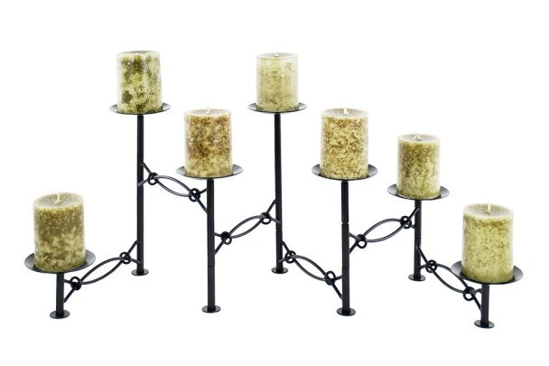 Black Hearth Candelabra on Sale