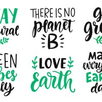Our Green Thing in tribute to Earth Day