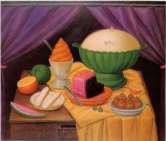 il bouffet secondo Botero