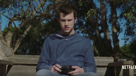 Dylan Minette in Netflix's 13 Reasons Why