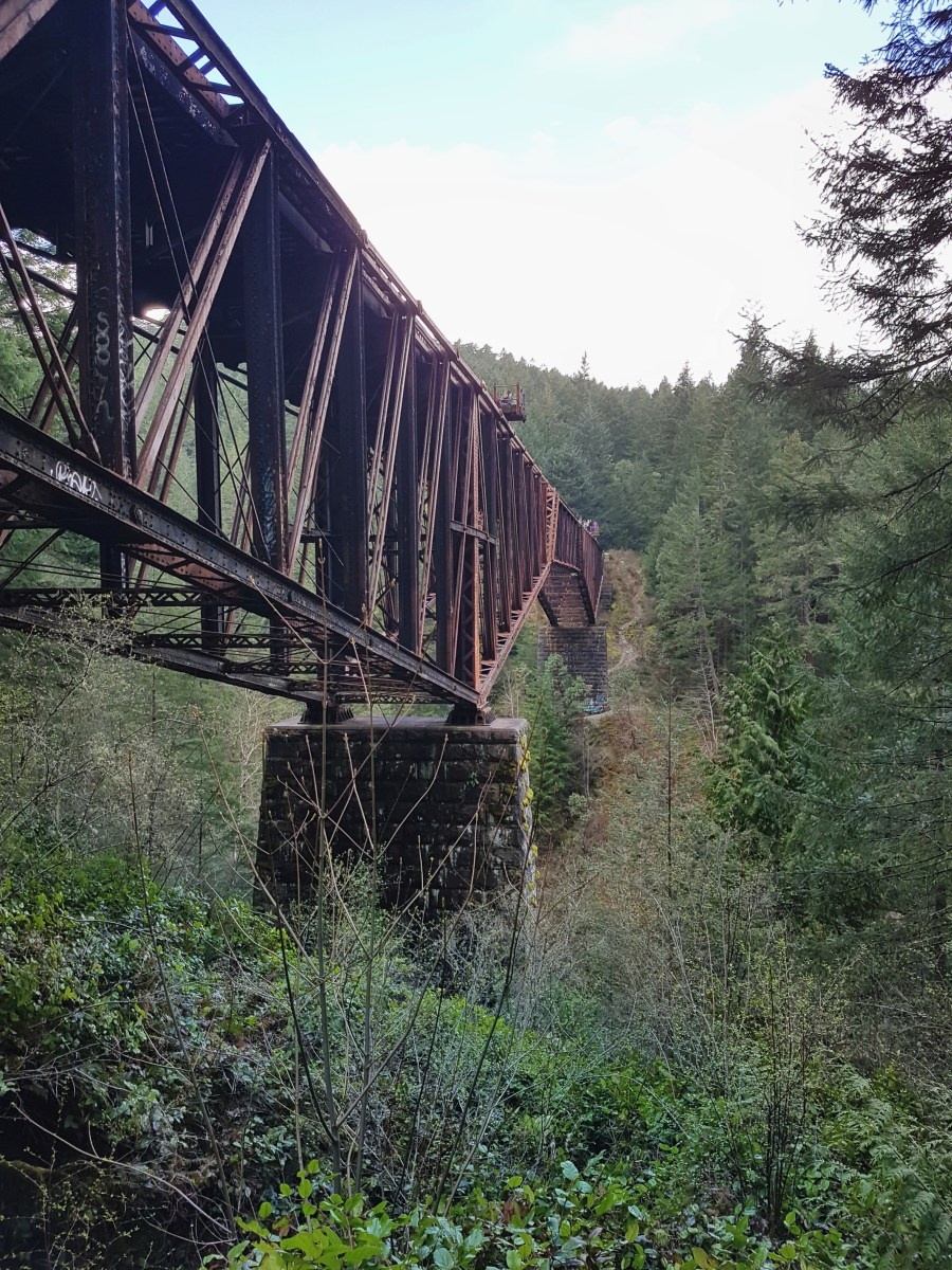 Goldstream Trestle Hike
