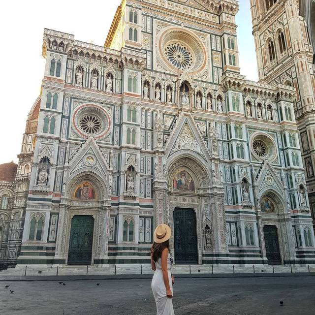 The stunning Duomo    duomo italyvacations florence