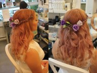 Bridal hair in association with Prep