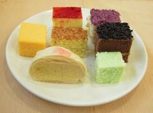 Gâteaux sucrés