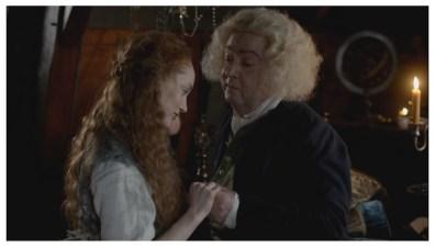 Lotte Verbeek as Geillis Duncan & John Sessions as Arthur Duncan