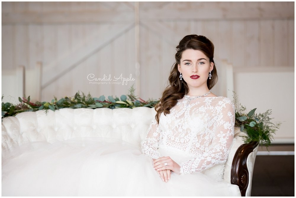 Winter Bride – Styled Wedding | Sanctuary Gardens