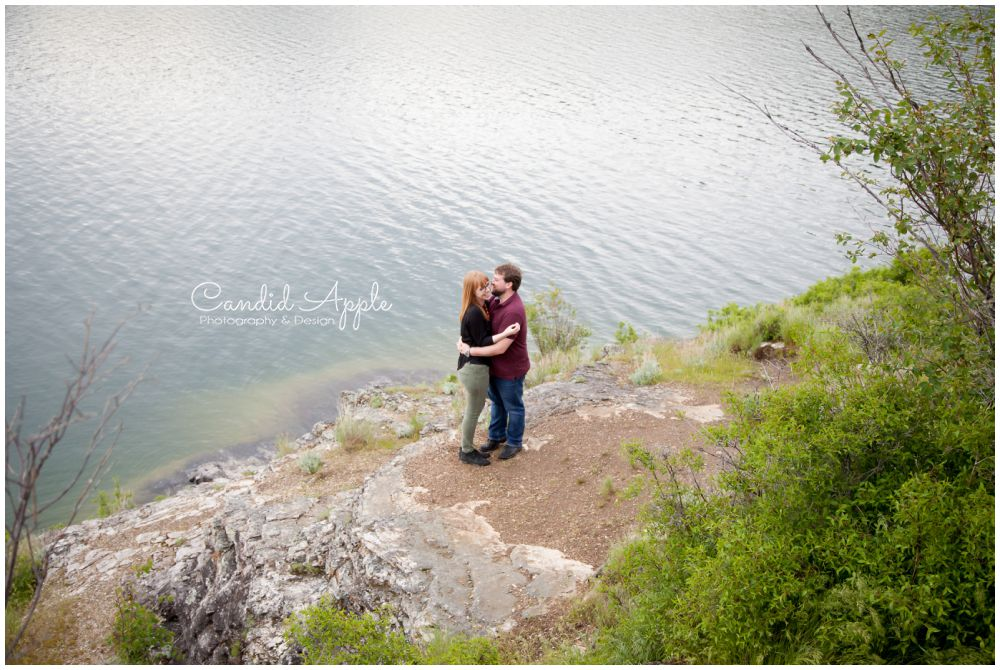 Dan & Lisa | Kalamalka Lake Engagement