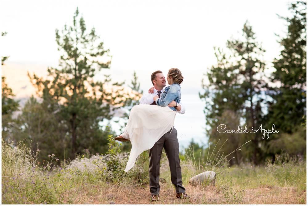 TJ & Sasha | Peachland Wedding
