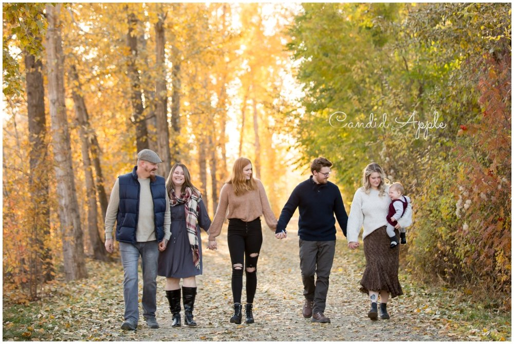 The Grindle Family | Kelowna Fall