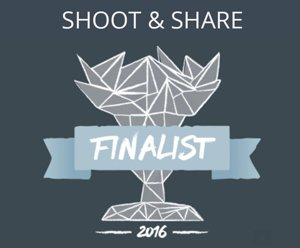 Shoot and Share FInalist Award Winner 2016