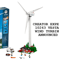 LEGO announces the 10268 Creator Expert Vestas Wind Turbine