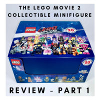 LEGO review : 71023 LEGO Movie 2 Collectible Minifigures : PART 1