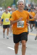 2007 Chicago MarathonFinish