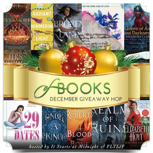 Book Giveaway Hop: December 2018 New Releases