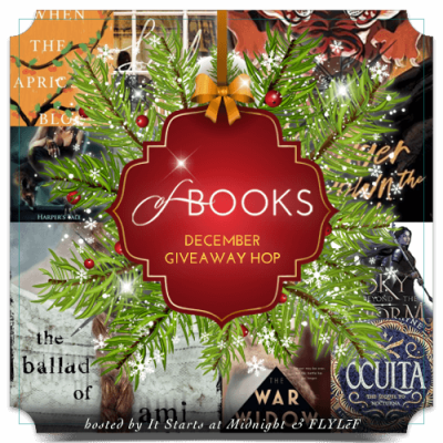December 2020 book giveaway