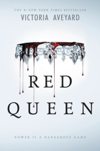 Book cover for Red queen by Vitoria Aveyard.