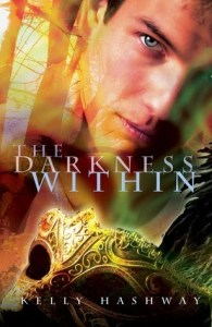 Book cover for The Darkness Within by Kelly Hashway
