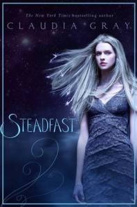 Book cover for Steadfast by Claudia Gray.