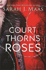 Book cover for A Court of Thorns and Roses by Sarah J. Maas