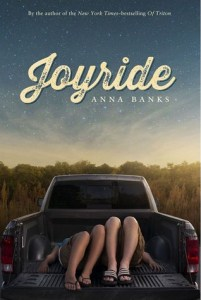 Book cover for Joyride by Anna Banks.
