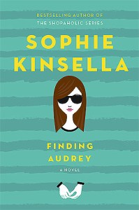 Book cover for Finding Audrey by Sophie Kinsella.