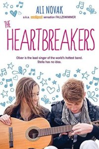 Book cover for The Heartbreakers by Ali Novak.