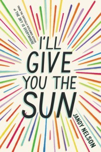 Book cove for I'll Give You the Sun by Sandy Nelson.
