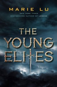 Book cover for The Young Elites by Marie Lu