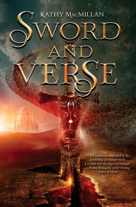 Book cover for Sword and Verse by Kathy MacMillan