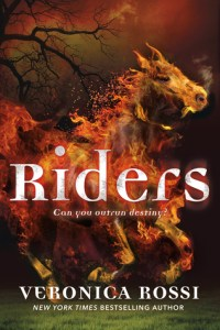Book cover for Riders by Veronica Rossi.