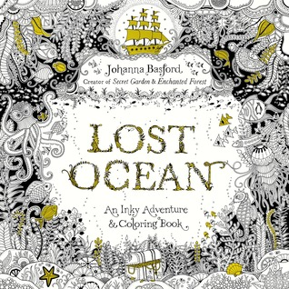Colouring Book Review Lost Ocean By Johanna Basford