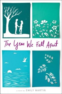 Book cover for The Year We Fell Apart by Emily Martin