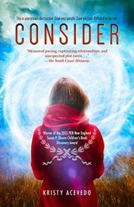 Book cover for Consider by Kristy Acevedo.
