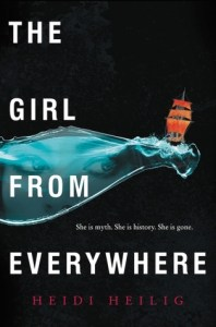 Book cover for The Girl From Everywhere by Heidi Heilig.