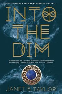 Book cover for Into the Dim by Janet B. Taylor.