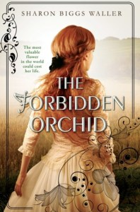 Book cover for The Forbidden Orchid by Sharon Biggs Waller.