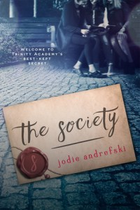 Book cover for The Society by Jodie Andrefski