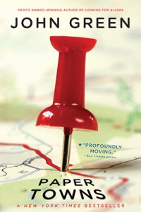 Book cover for Paper Towns by John Green