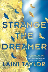 Book cover for Strange the Dreamer by Laini Taylor