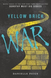Book cover for Yellow Brick War by Danielle Paige