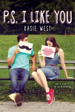 Book cover for P.S. I Like you by Kasie West.