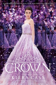 Book cover for The Crown by Kiera Cass