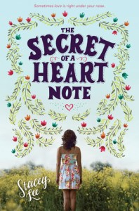 Book cover for The Secret of a Heart Note by Stacey Lee