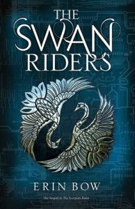 Book cover for The Swan Riders by Erin Bow