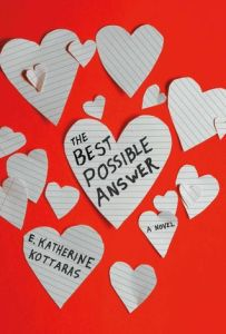 Book cover for The Best Possible Answer by Katherine Kottaras