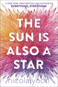 Book cover for The Sun is Also a Star by Nicola Yoon