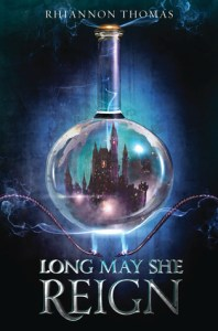Book cover for Long May She Reign by Rhiannon Thomas