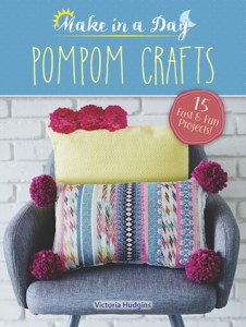 Book cover for Pompom Crafts by Victoria Hudgins